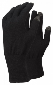 Merino Touch Liner Glove (Black)